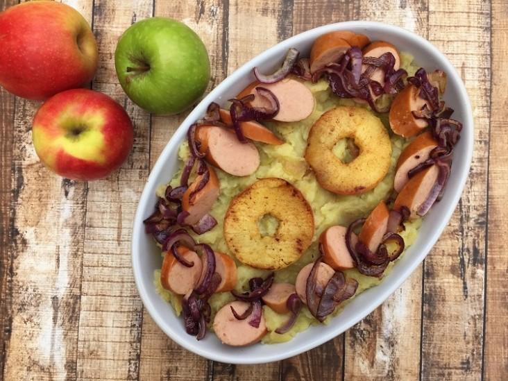 Winterkost recept #9: hete bliksem met appel en peer