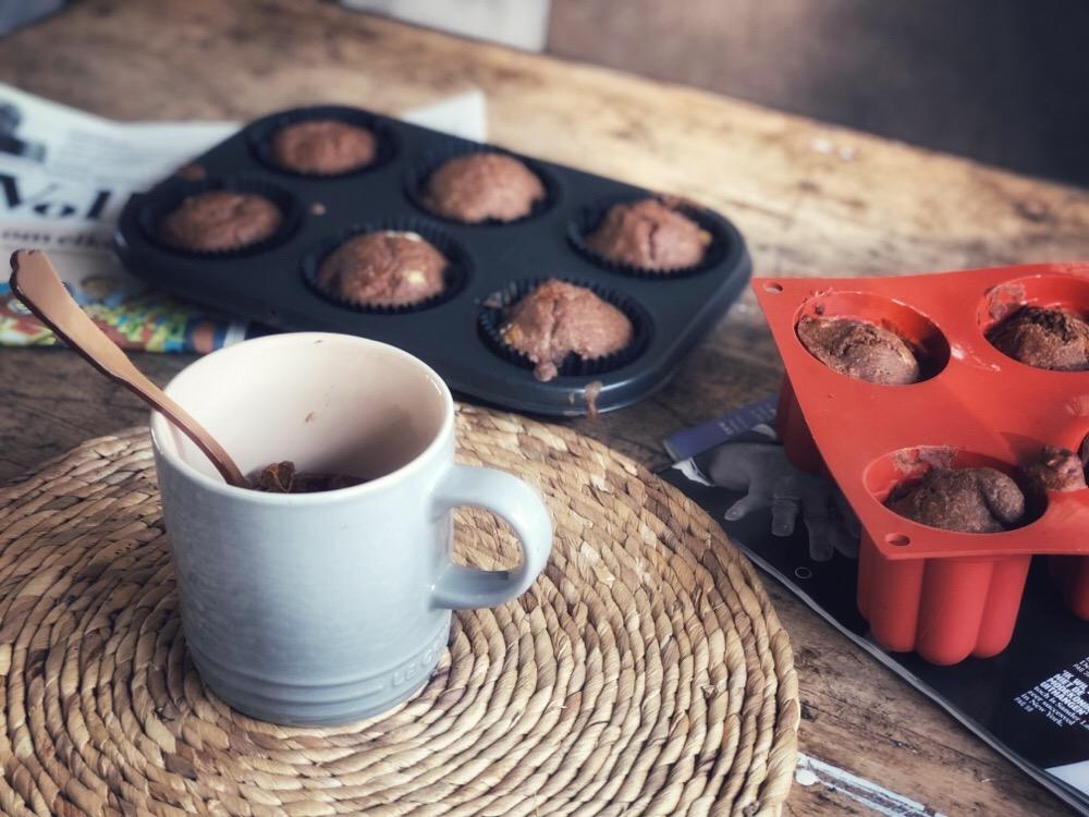 mugcake met pompoen