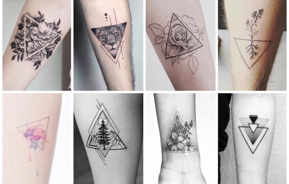 Zeer De allermooiste driehoek tattoos (en hun betekenis) - One Hand in #VT41