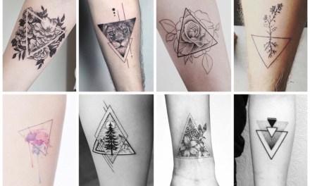 De allermooiste driehoek tattoos (en hun betekenis)