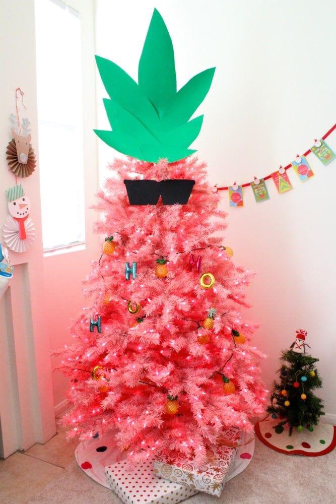 ananas kerstboom
