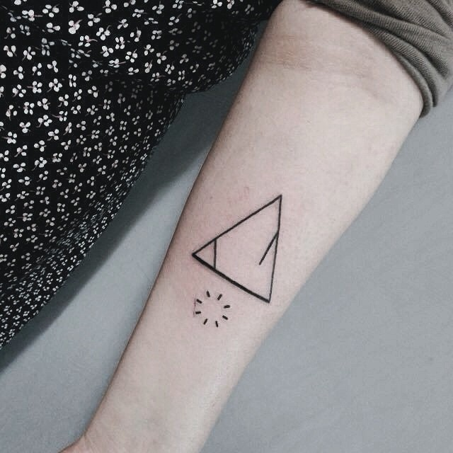 traingle tattoos and their meanings