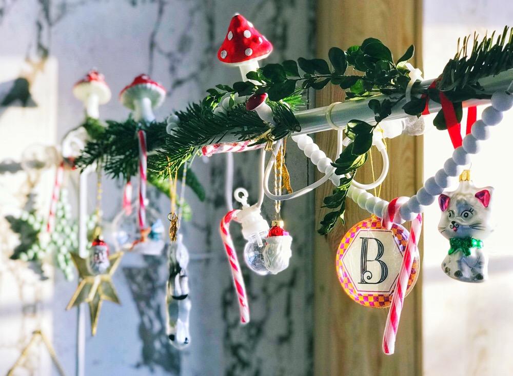 tafelklem kerstmis