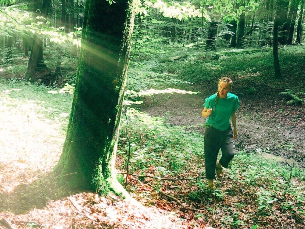 hiken in Unesco Nationaal Park Hainich