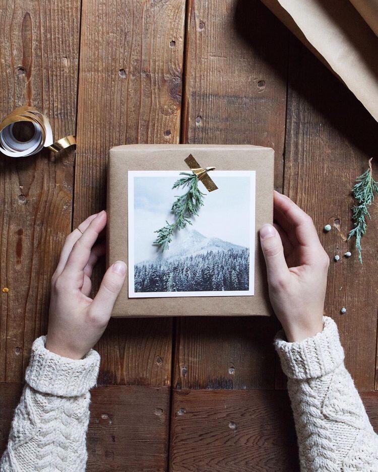 cadeautjes inpakken voor de kerst
