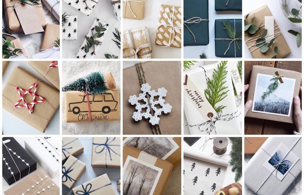 Cadeautjes inpakken? 15x inspiratie voor de kerst