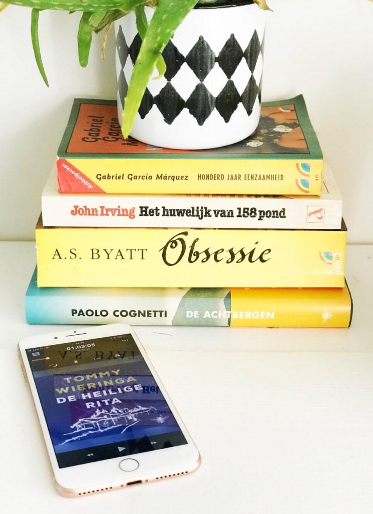 luisterboeken via de app storytel