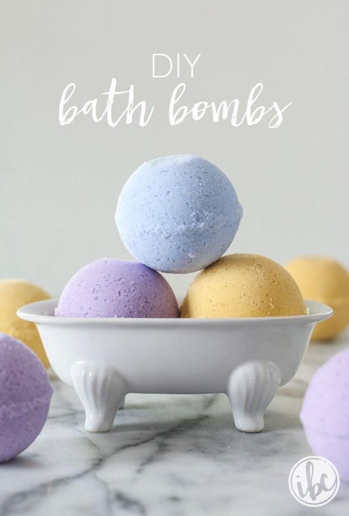 bath bomb maken