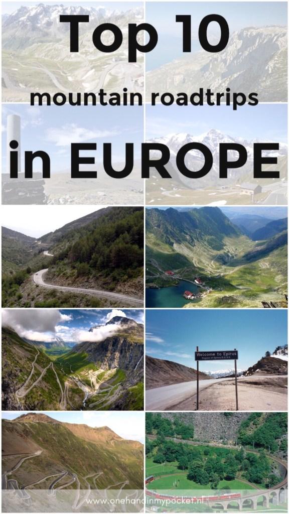 de mooiste bergpassen in Europa