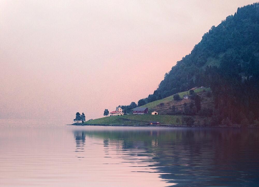 stavanger fjord Noorwegen