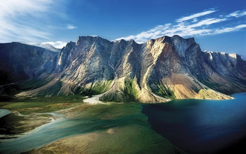 National Park Torngat Mountains in Labrador