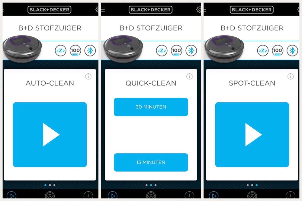 app Black & Decker robotstofzuiger