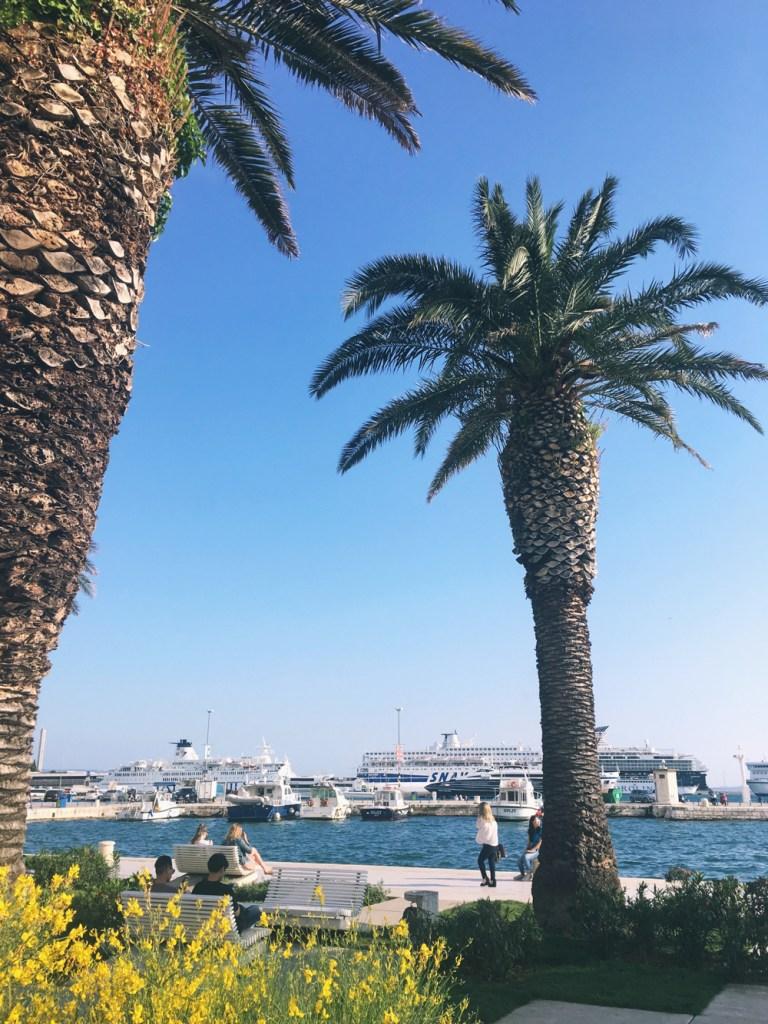 boulevard in Split