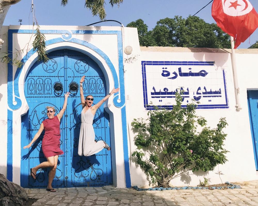 Sidi Bou Said in Tunisia