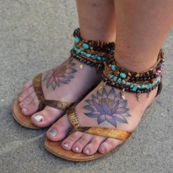 tattoos voor op de voet