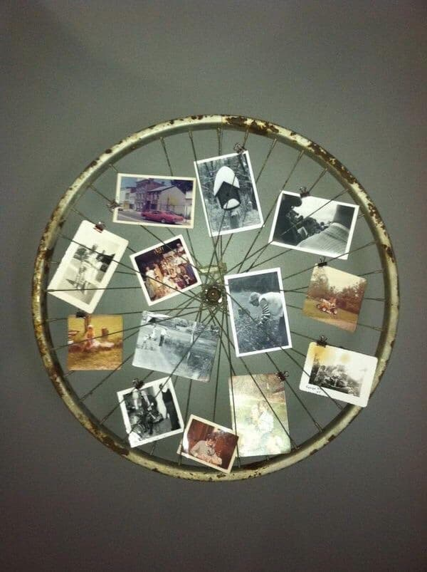foto's op wiel