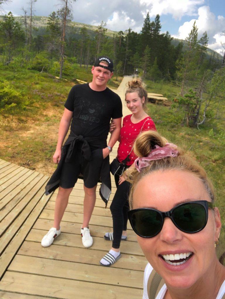 op vakantie naar Zweden