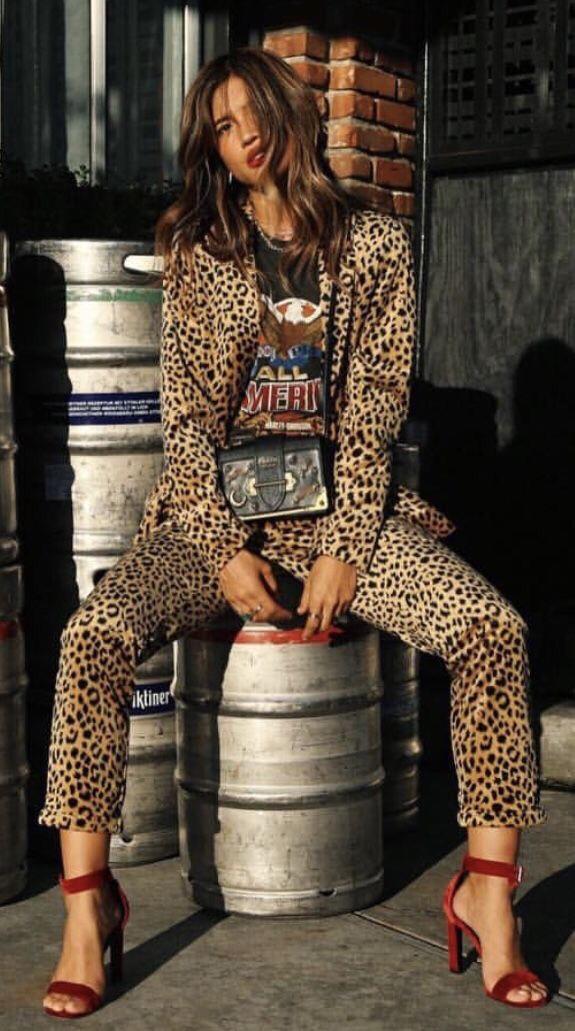 tijgerprint outfit