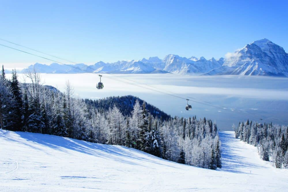 Wintersport in Canada - Rocky Mountains
