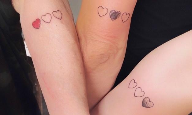 Oma wordt 70: wij zetten een 3 generaties tattoo