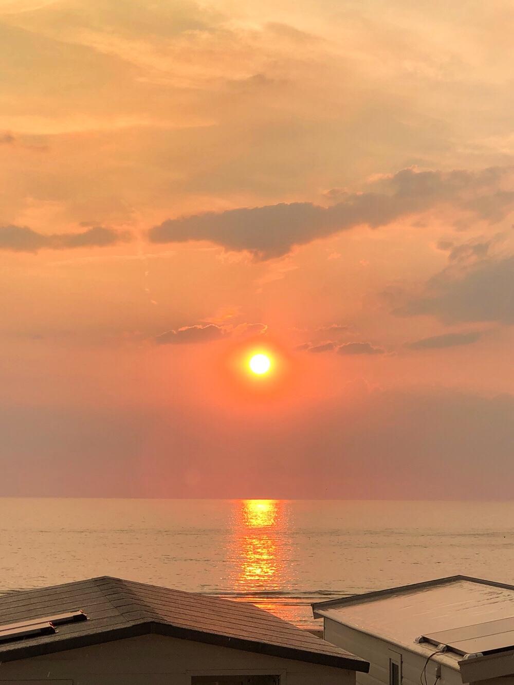 zonsondergang Bloemendaal