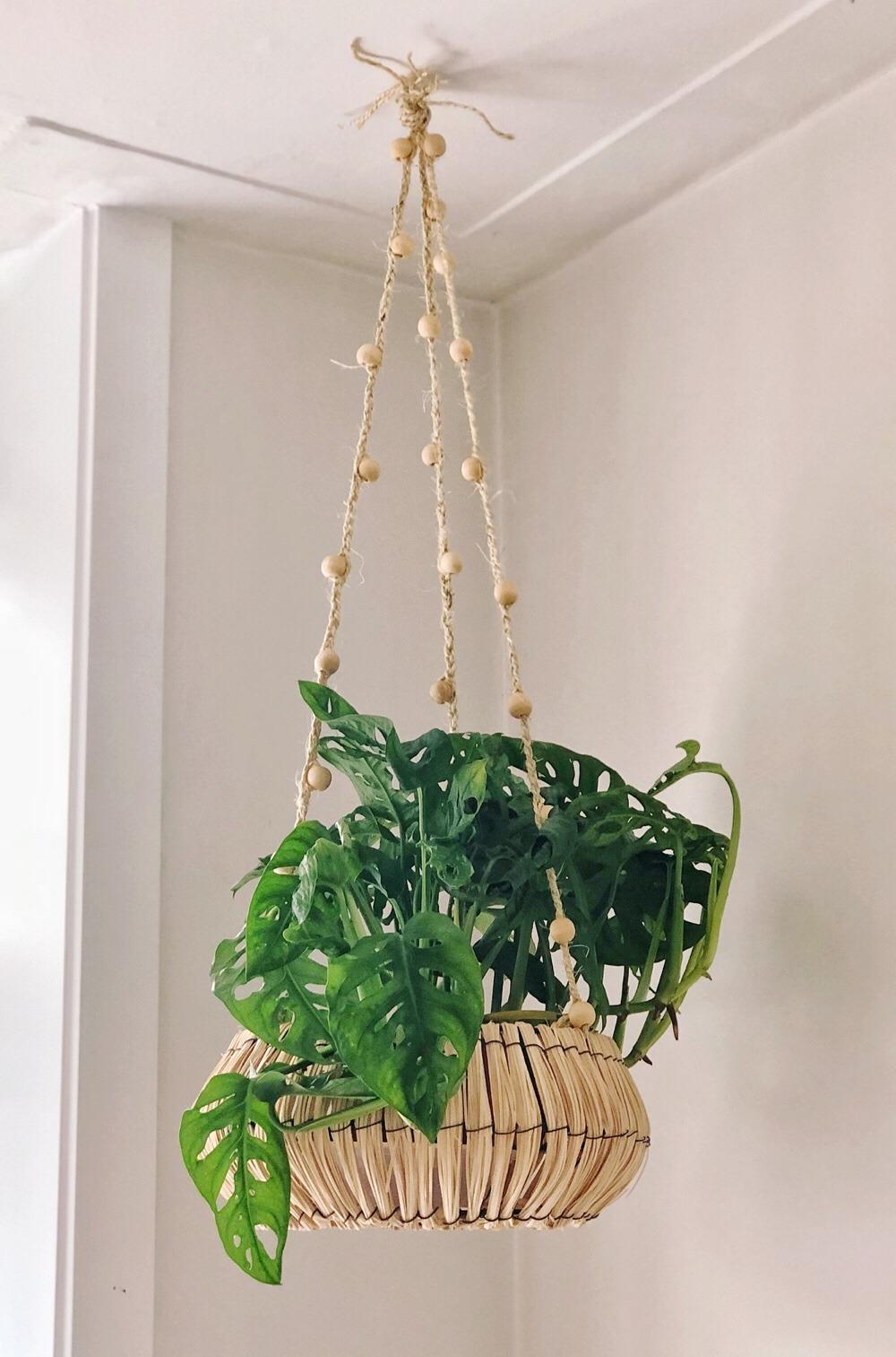 zelf plantenhanger maken