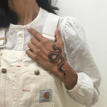 tattoos van slangen