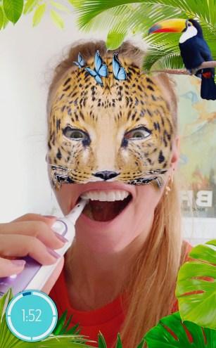 Snapchat elektrische tandenborstel