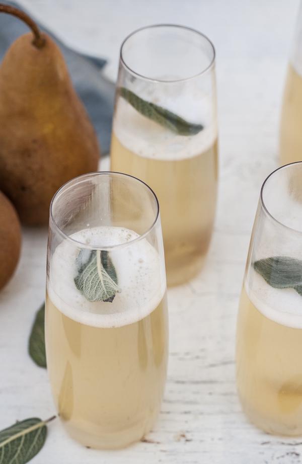 peer salie champagne cocktail