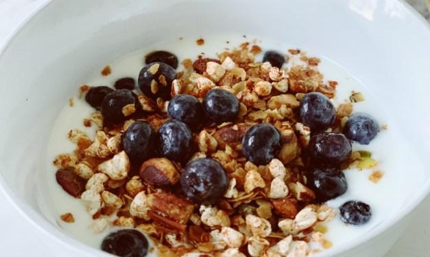 Zelfgemaakte granola uit de slowcooker