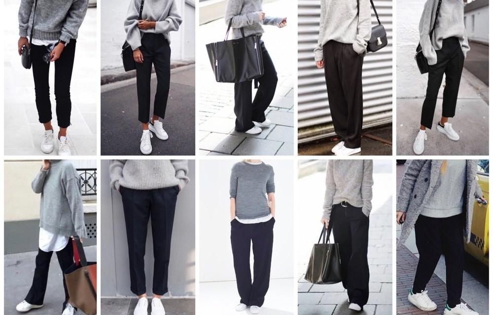 De perfecte basic outfit die altijd kan