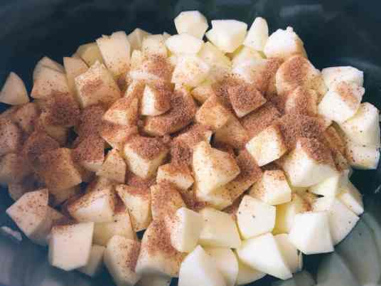 slowcooker appelmoes