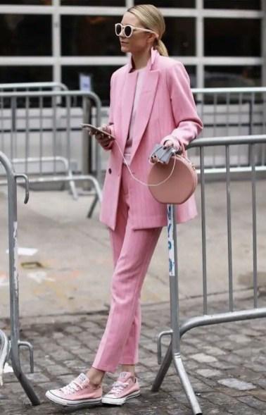 roze damespakken