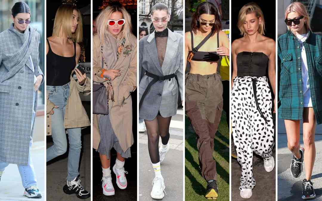 ugly sneakers fashion trend