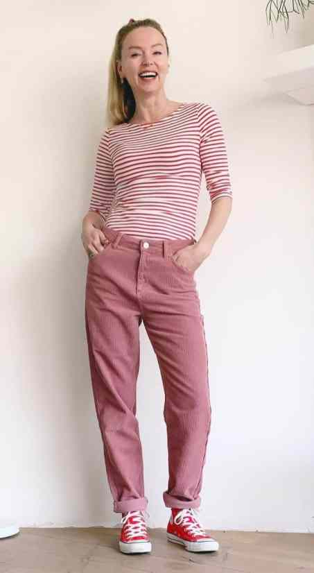 roze rood combi