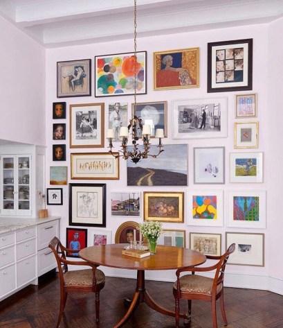gallery wall eethoek