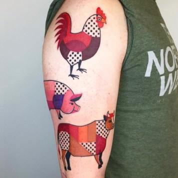tattoo artist Winston