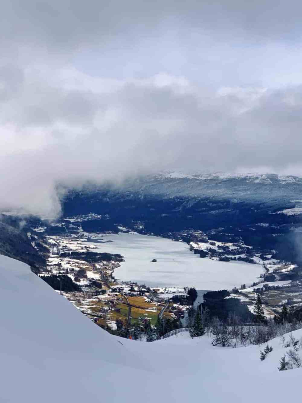 Snowshoe hike in Voss