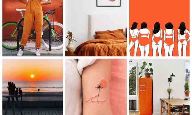 Weekend finds 16: trendy oranje kleuren palet