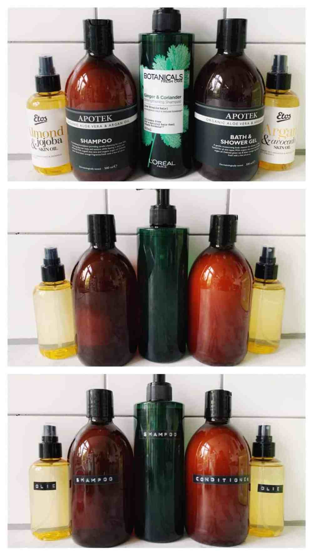 how-to make your own amber soap dispenser