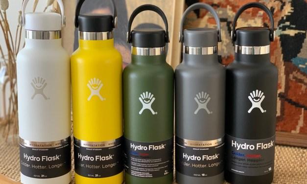 Winnen: 5x Hydro Flask isoleerfles (voor heet en koud)