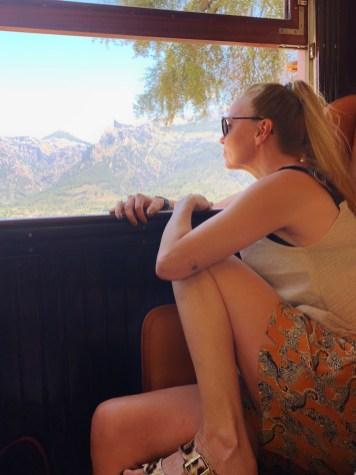 treinritje van Palma de Mallorca naar Soller