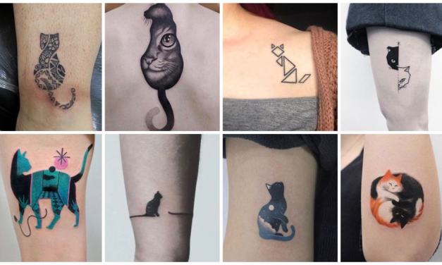 30x bijzondere katten tattoos