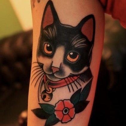 katten tattoo als herinnering