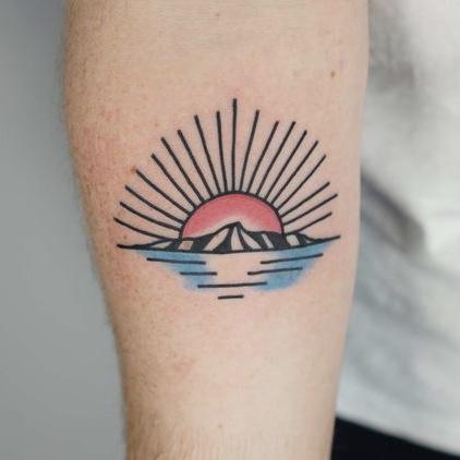tattoo zon old school style