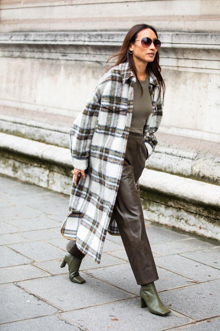 winterjassen trend geruite jas