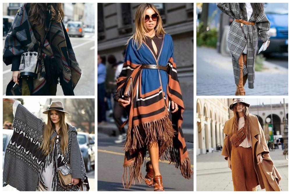 winterjassen trends poncho's