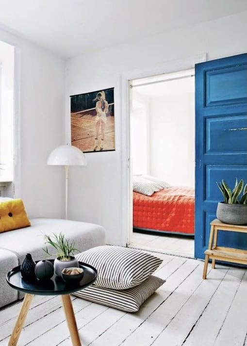 koningsblauwe interieurtrends