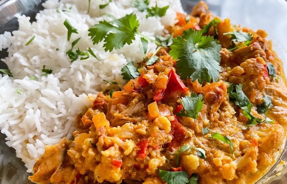 Curry madras uit de slowcooker