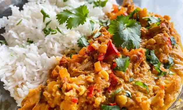 Curry madras uit de slowcooker